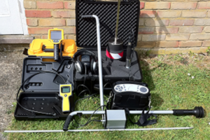 Water leak detection near me Sharpthorne