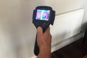 Heating circuit water leak detection service Hartley Witney